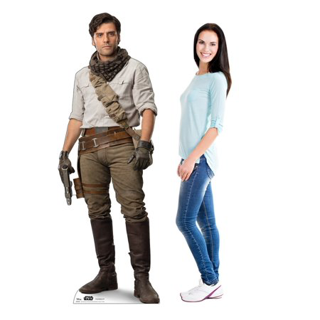 New Rise of Skywalker Poe Dameron Cardboard Standee available!
