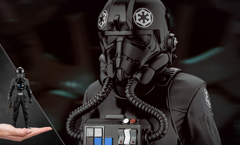 New A New Hope Tie Fighter Pilot ARTFX+ Statue available for pre-order!