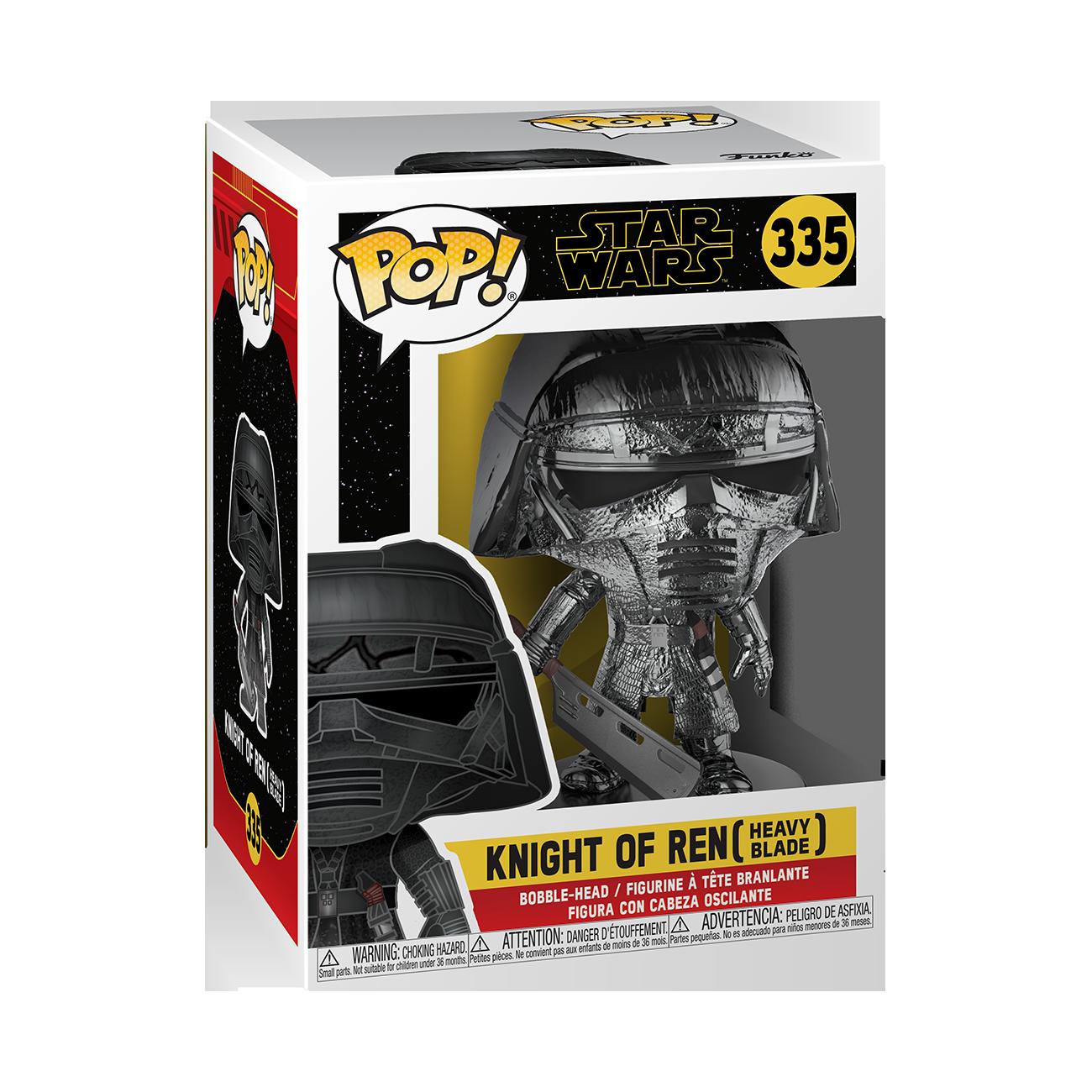 TROS Knight Of Ren (Blade) Hematite Chrome Bobble Head Toy 1