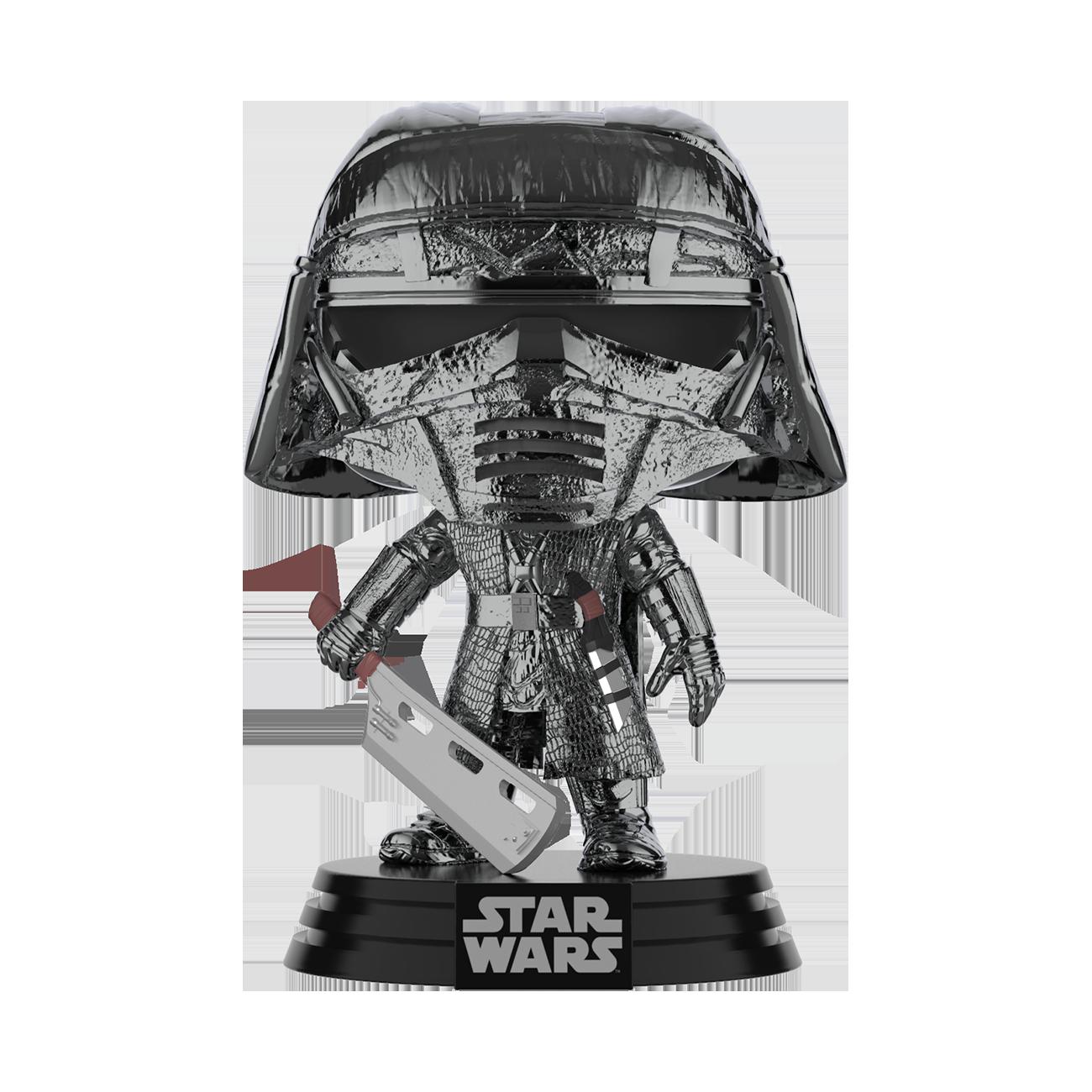 TROS Knight Of Ren (Blade) Hematite Chrome Bobble Head Toy 2