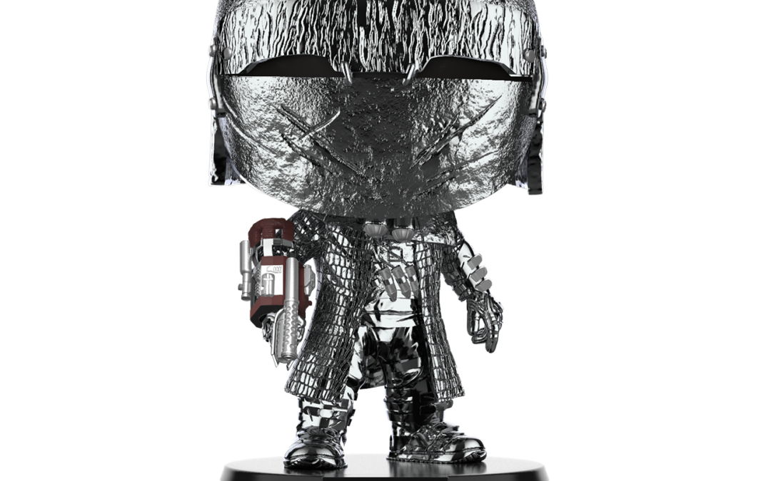 New Knight Of Ren (Cannon) Hematite Chrome Bobble Head Toy available!
