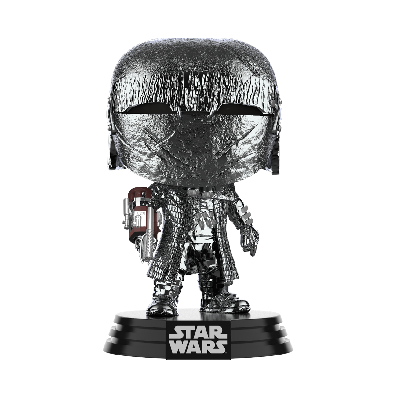 TROS FP Knight Of Ren (Cannon) Hematite Chrome Bobble Head Toy 2