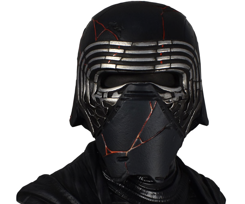 New Rise of Skywalker Kylo Ren 1/2 Scale Bust available for pre-order!