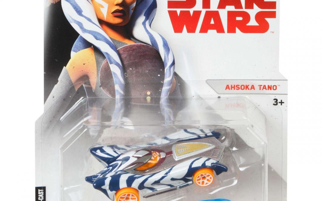 New Last Jedi (Star Wars Rebels) Ahsoka Tano Character Car available!