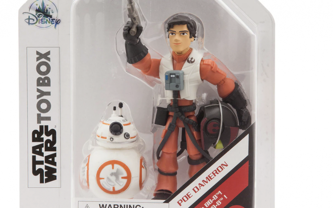 New Rise of Skywalker Poe Dameron with BB-8 Toybox Figure Set available!