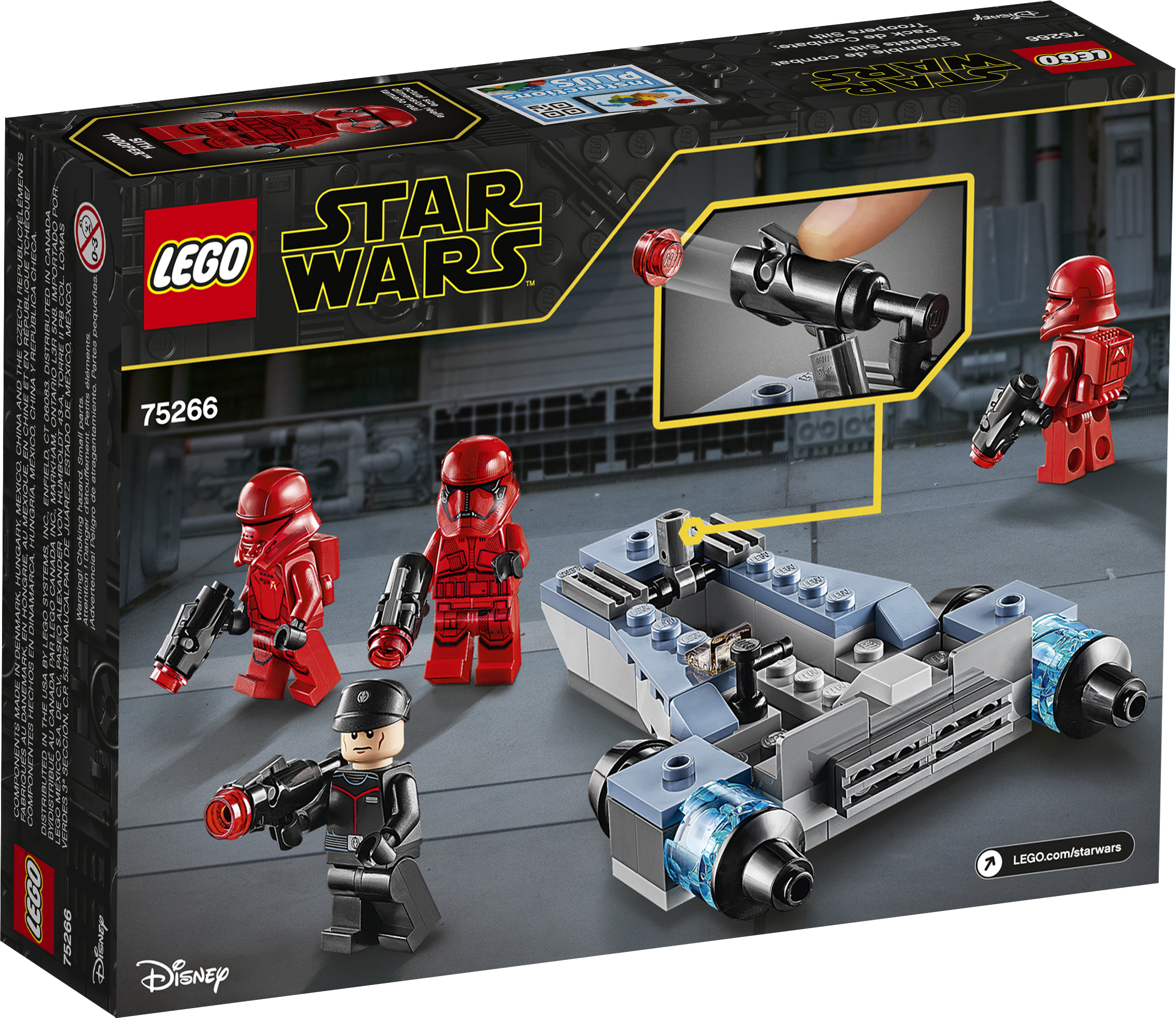 TROS Sith Troopers Lego Battle Pack 2