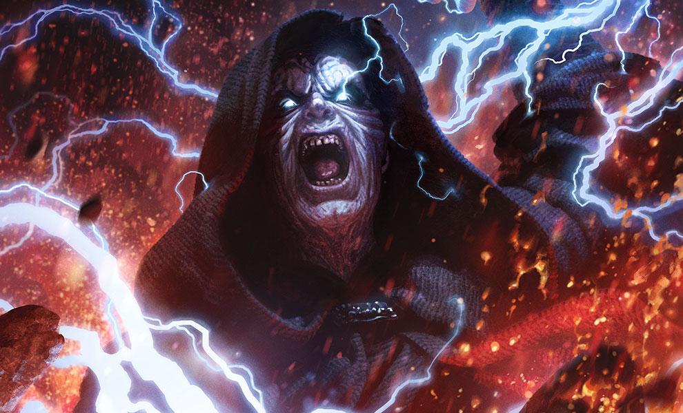 SW Darth Sidious: Unlimited Power Fine Art Print 1