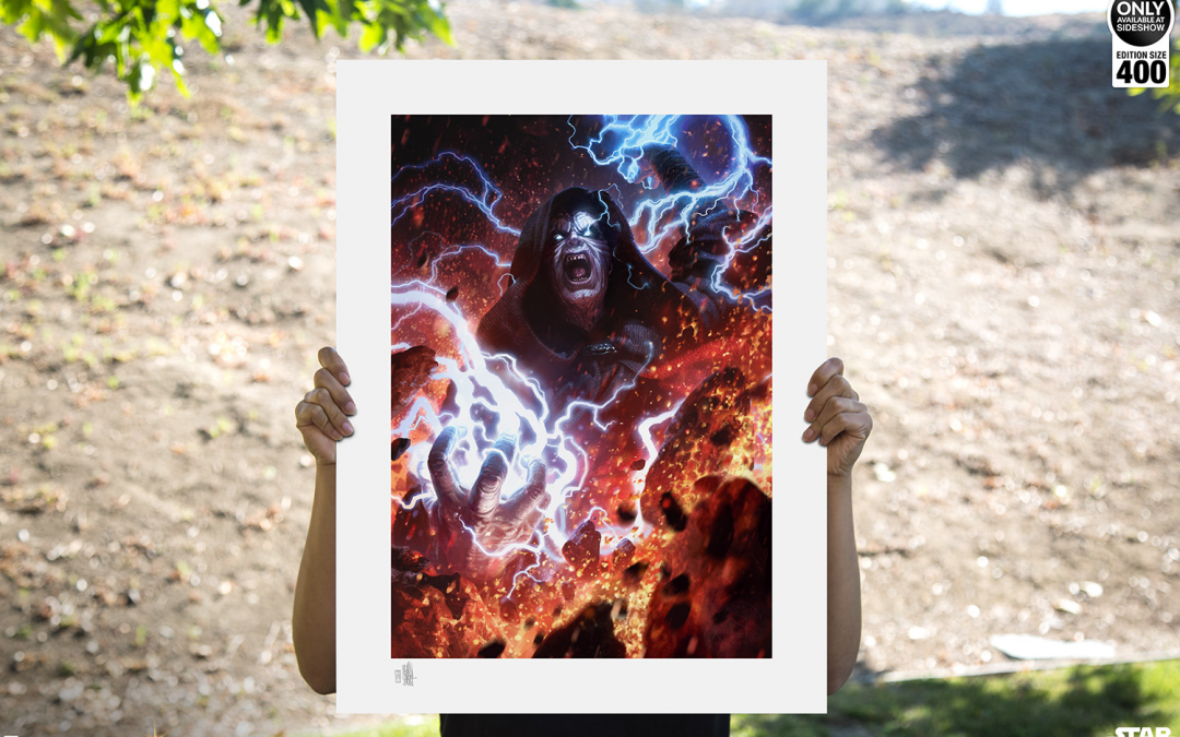 New Darth Sidious: Unlimited Power Fine Art Print available for pre-order!