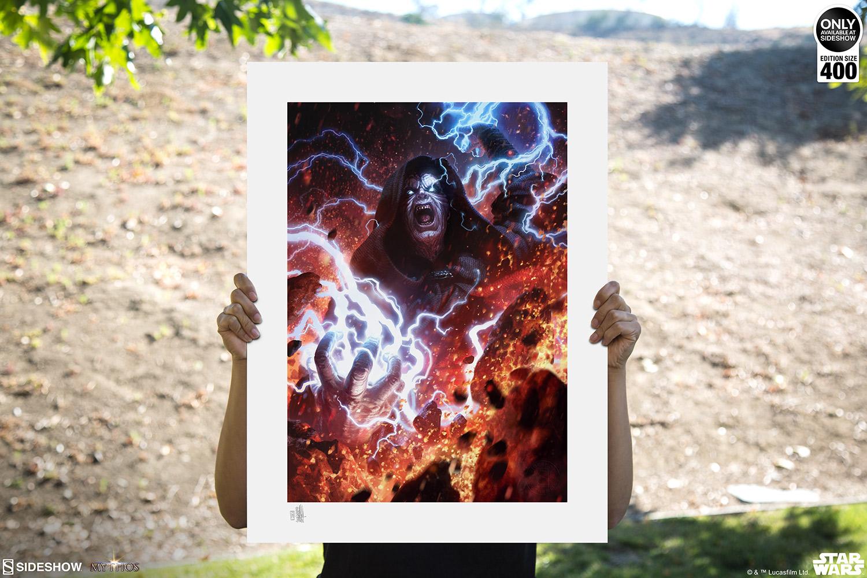 SW Darth Sidious: Unlimited Power Fine Art Print 2