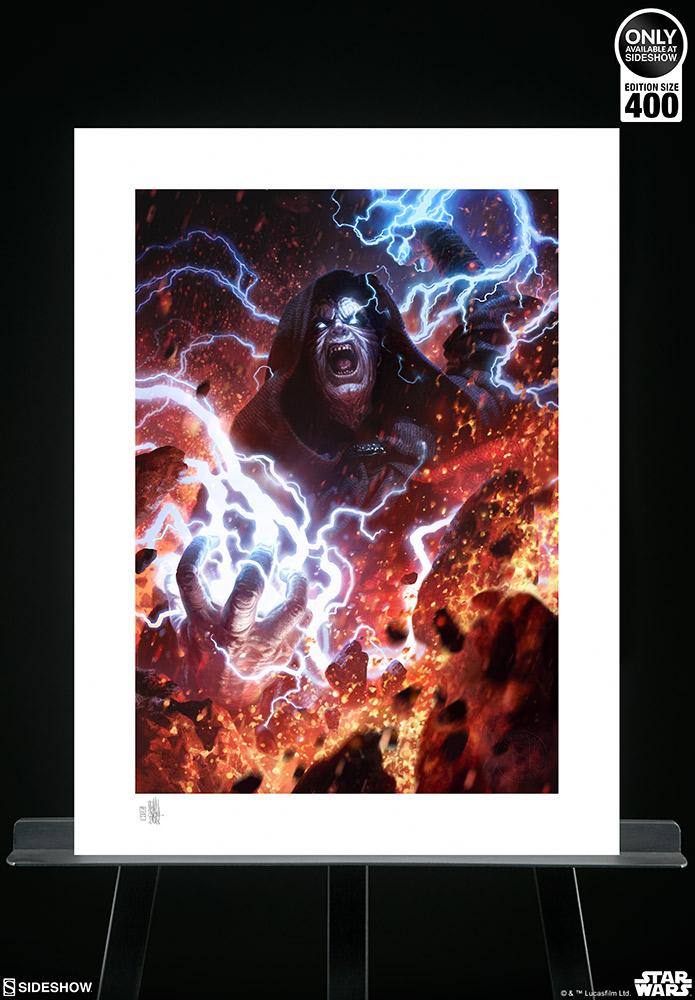 SW Darth Sidious: Unlimited Power Fine Art Print 3