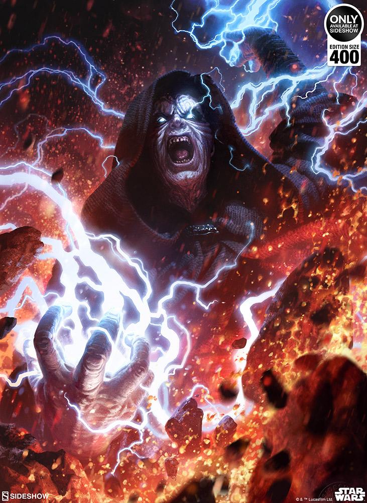 SW Darth Sidious: Unlimited Power Fine Art Print 4