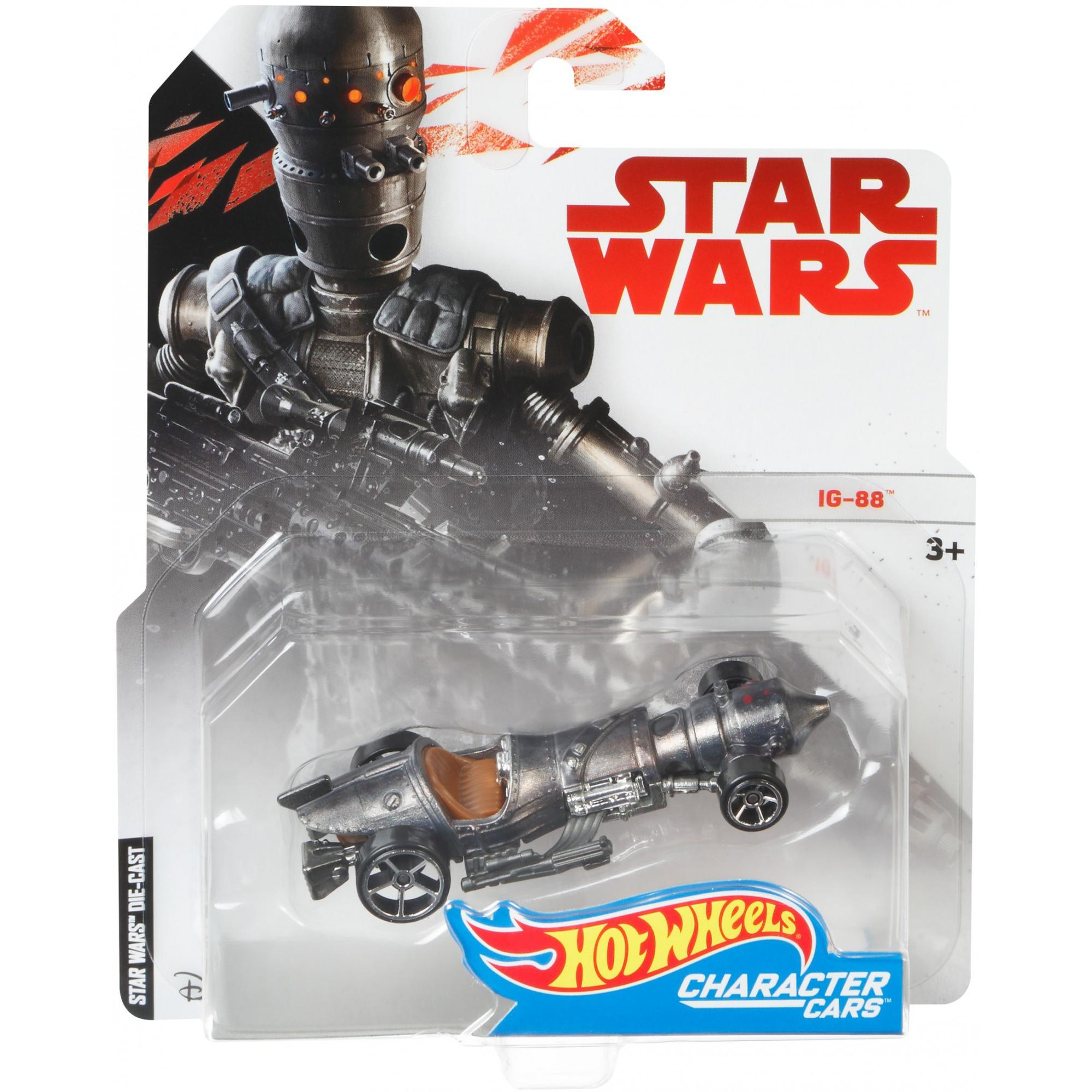 SW IG-88 HW Character Car Toy 1
