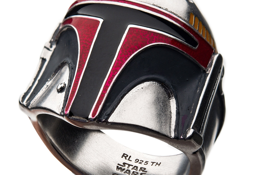 New Star Wars Boba Fett Ring available now!