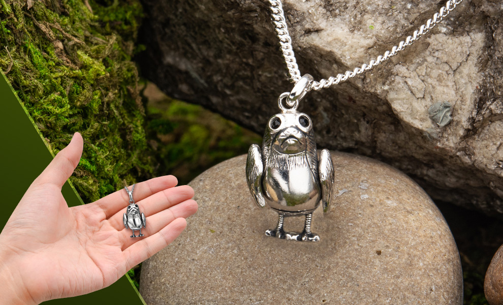 TLJ Porg Necklace 1