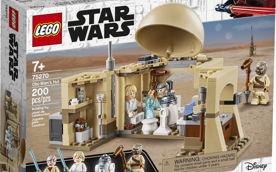 New A New Hope Obi-Wan's Hut Lego set available!