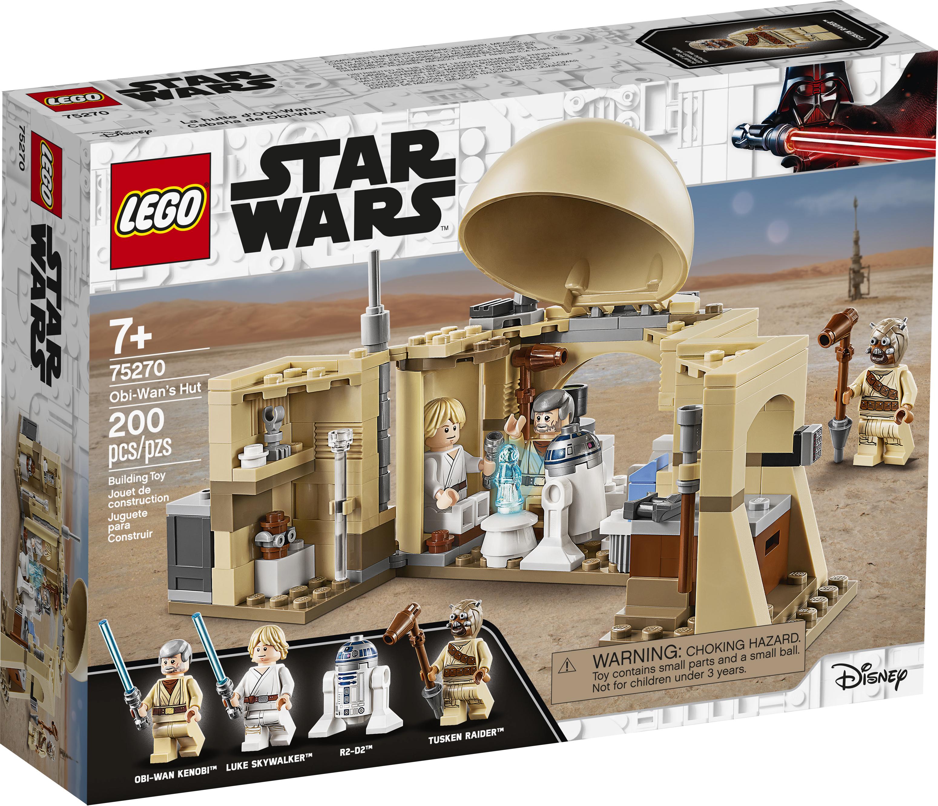 ANH Obi-Wan's Hut Lego set 1