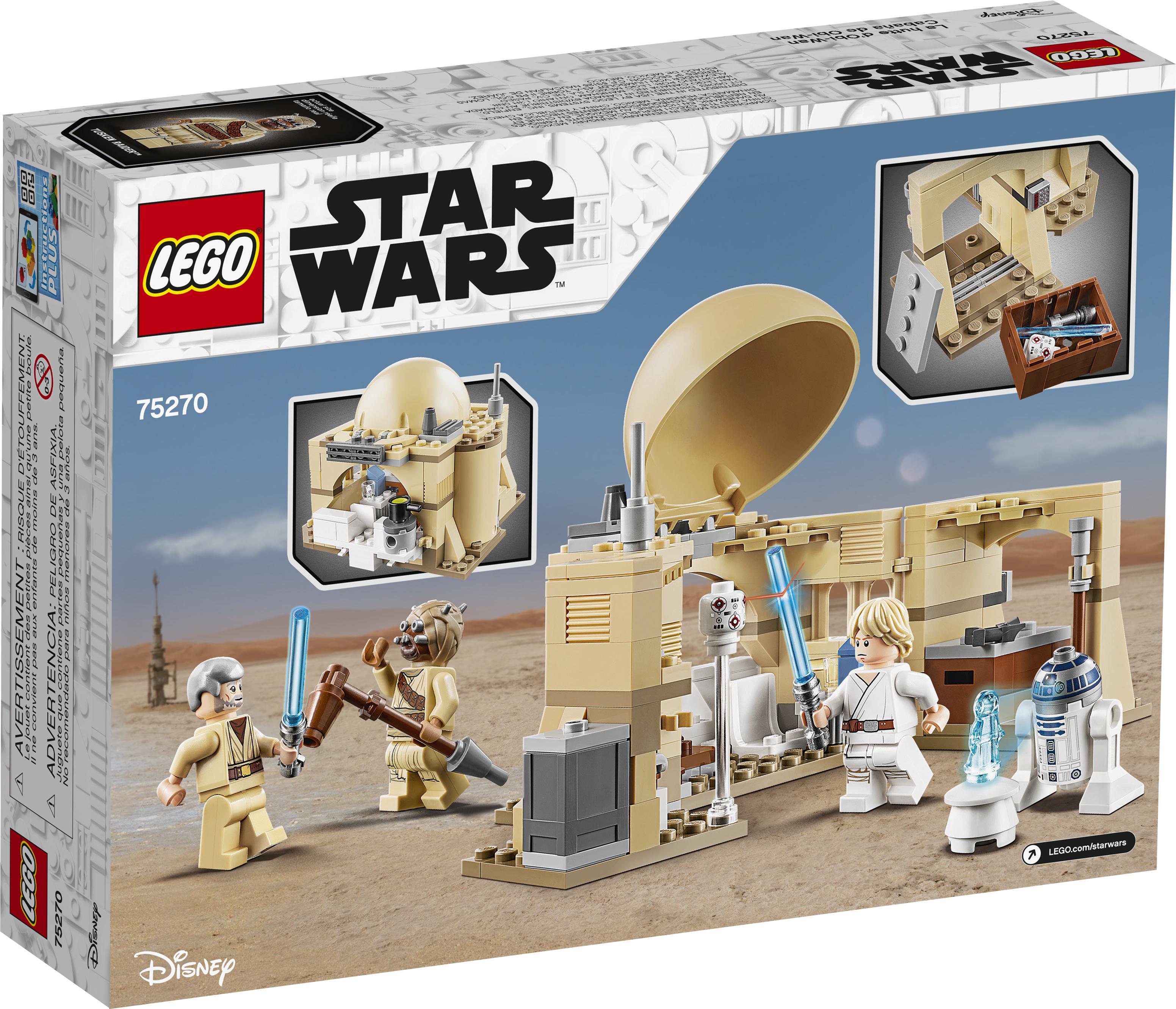 ANH Obi-Wan's Hut Lego set 2