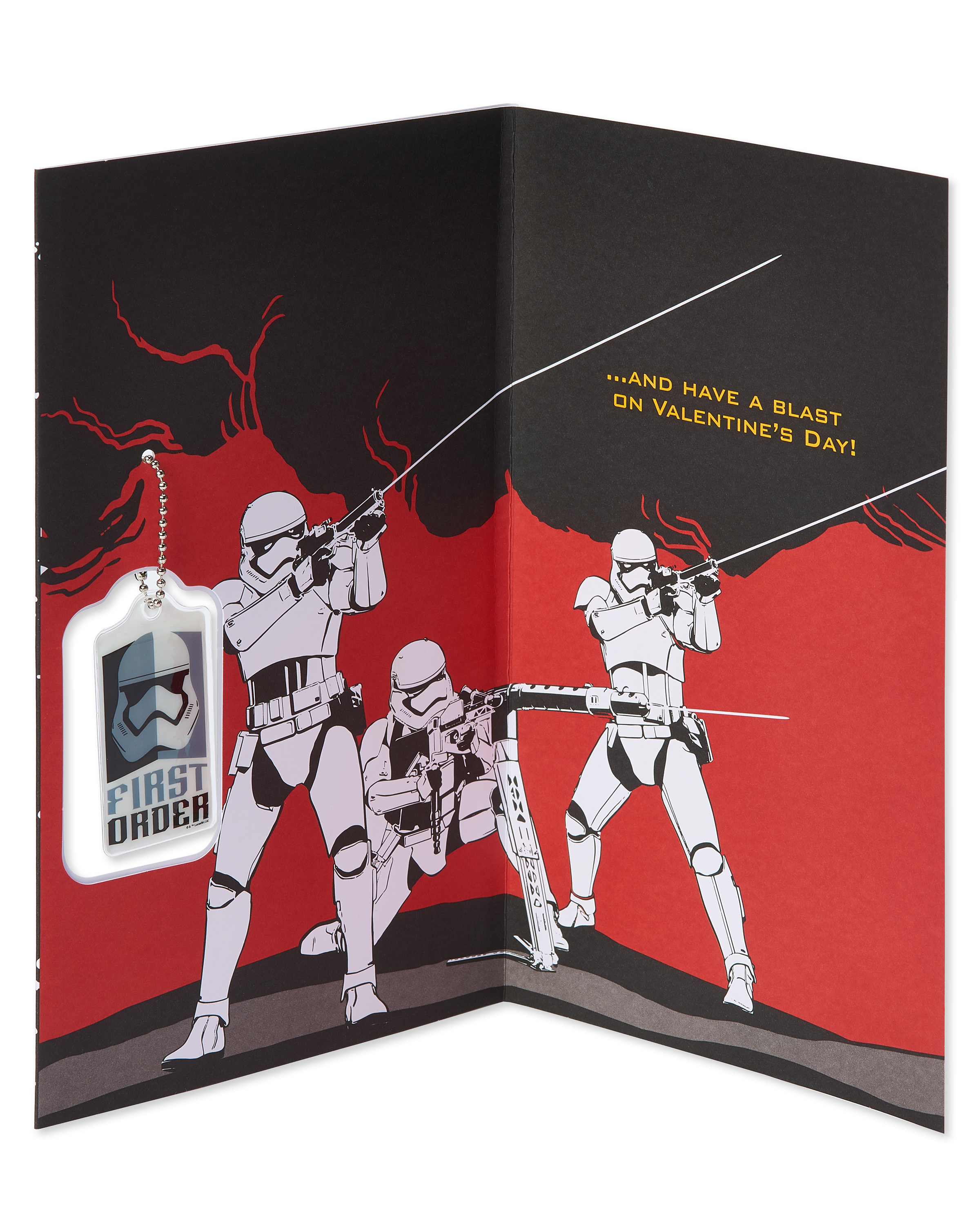 SW FO Stormtrooper Valentines Day Card 2