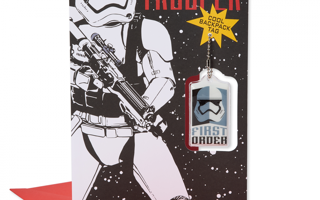 New First Order Stormtrooper Valentines Day Card available!