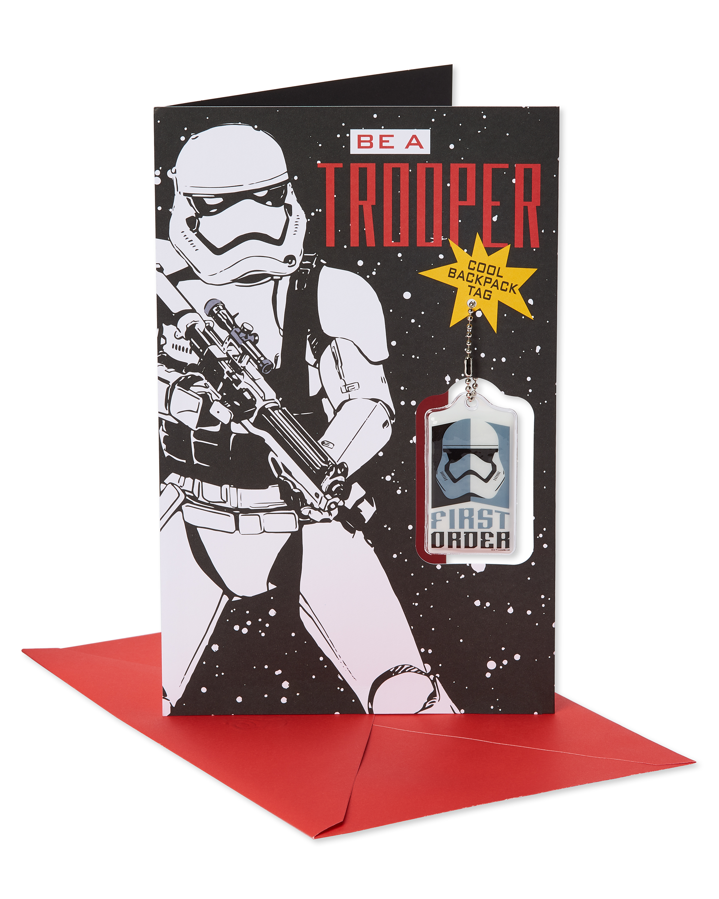 SW FO Stormtrooper Valentines Day Card 3