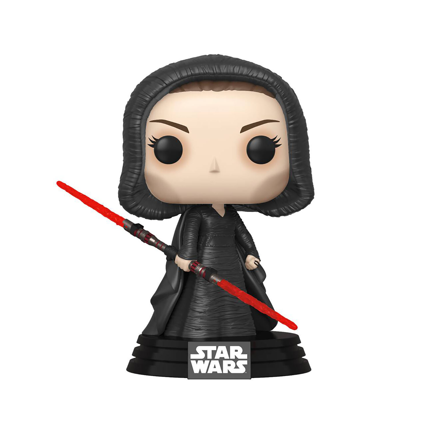 TROS Dark Rey and C-3PO (Red Eyes) Bobble Head Toy 2-Pack 3