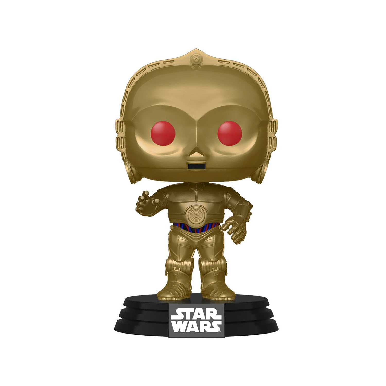 TROS Dark Rey and C-3PO (Red Eyes) Bobble Head Toy 2-Pack 5
