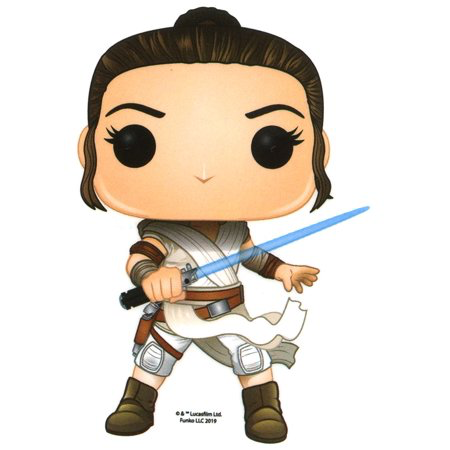 New Rise of Skywalker Funko Pop! Rey Sticker available!
