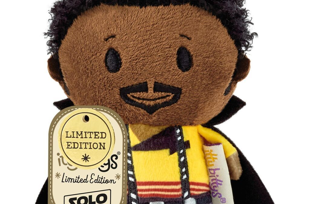 New Solo Movie Lando Calrissian Itty Bittys Plush Toy available!