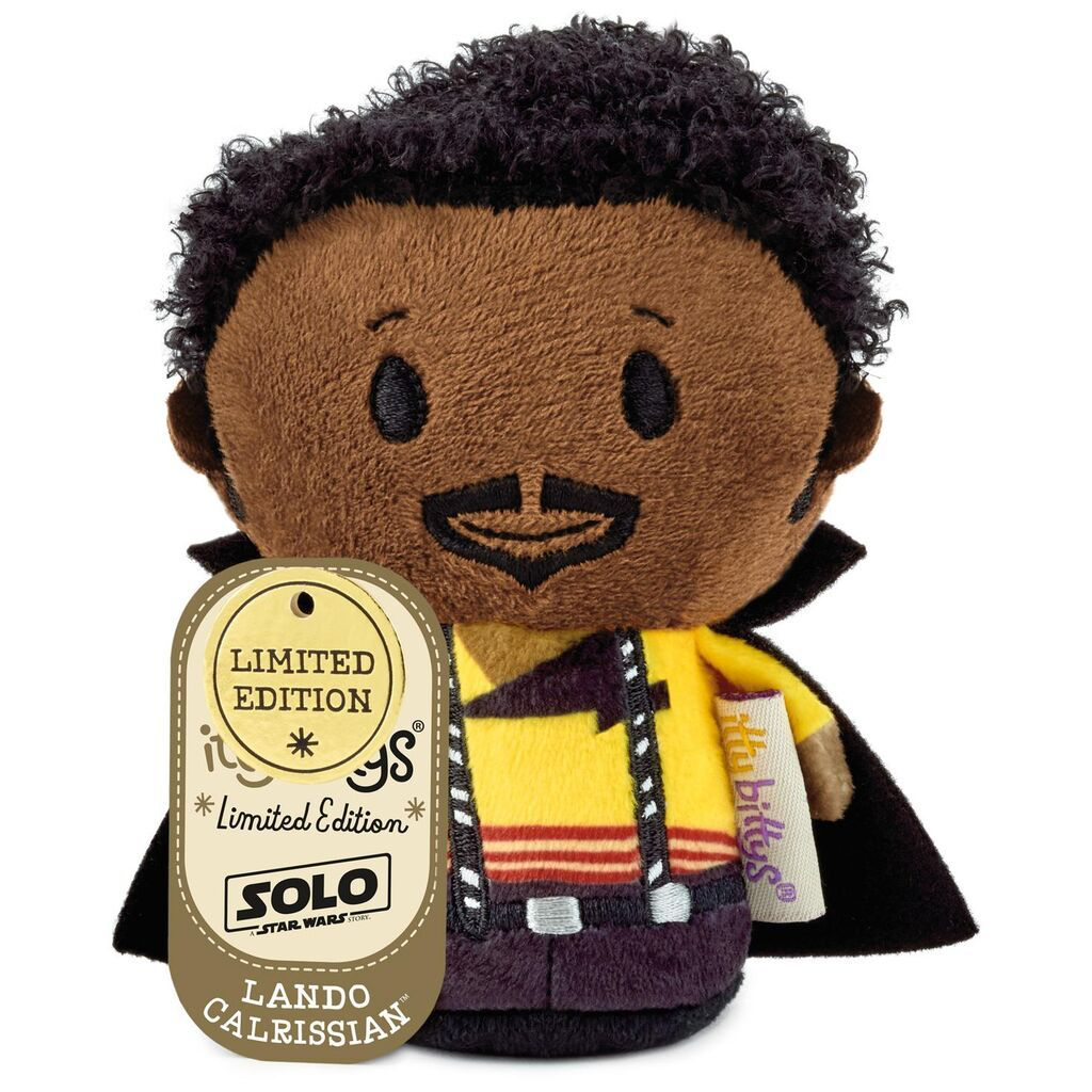 Solo: ASWS Lando Calrissian Itty Bittys Plush Toy 1