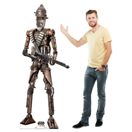 New The Mandalorian IG-11 Cardboard Standee available now!