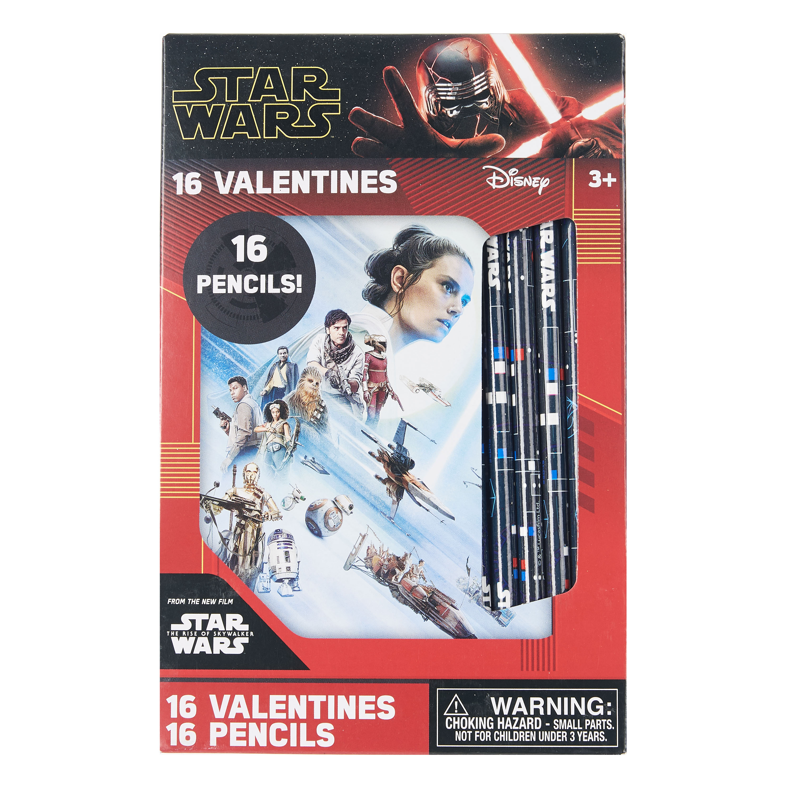TROS Valentines With Pencils Set 1