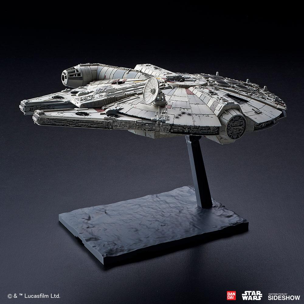 TROS Millennium Falcon Model Kit 3