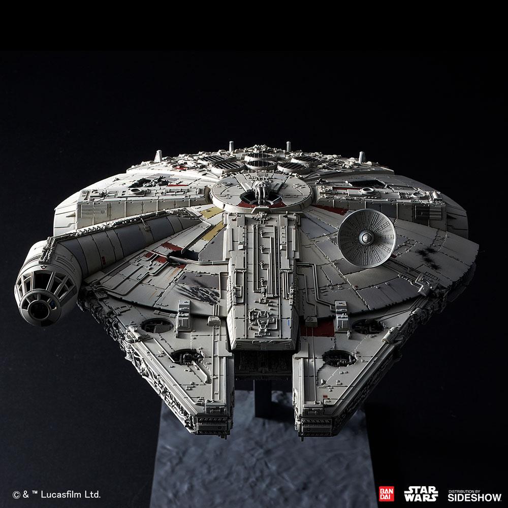 TROS Millennium Falcon Model Kit 6
