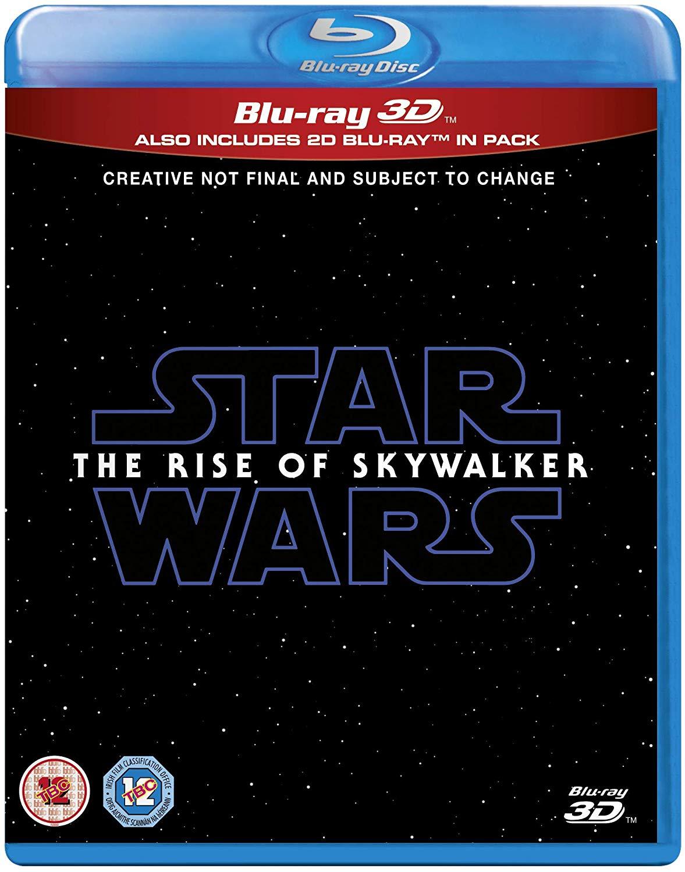 TROS Blu-ray 3D DVD