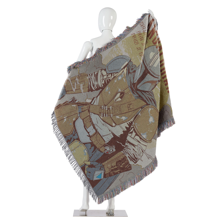 TM Woven Tapestry Throw Blanket 2