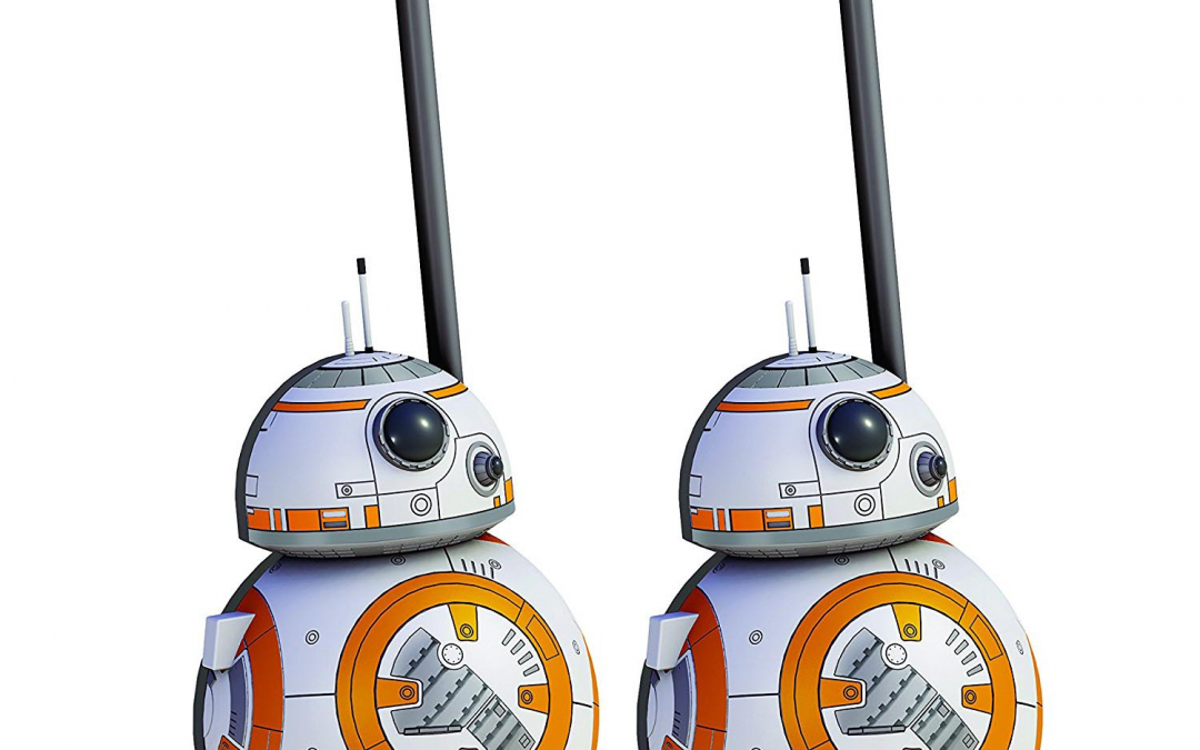 New Rise of Skywalker BB-8 Short-Range Walkie Talkies available!