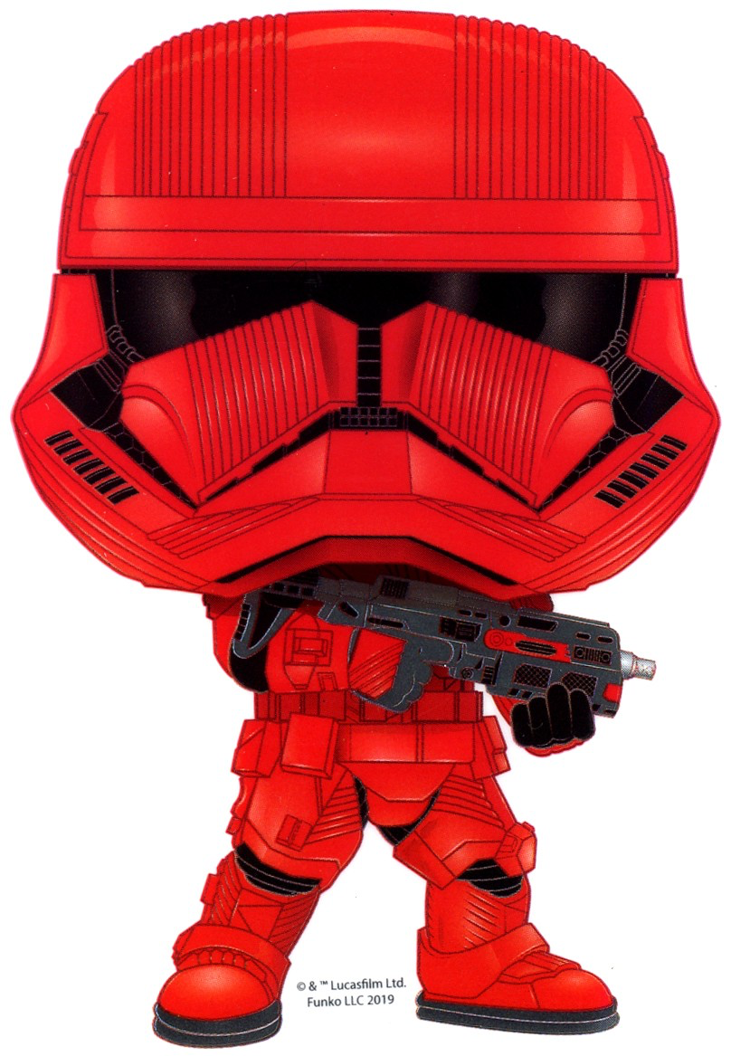 TROS FP FO Sith Trooper Sticker