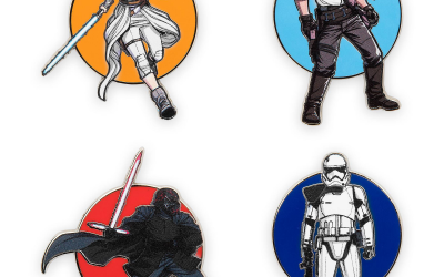 New Rise of Skywalker Pin Trading Starter Set available now!