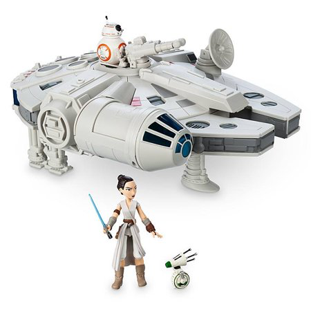 New Rise of Skywalker Millennium Falcon Toybox Play Set in stock!