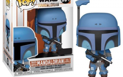 New The Mandalorian Death Watch Mandalorian Bobble Head Toy available!