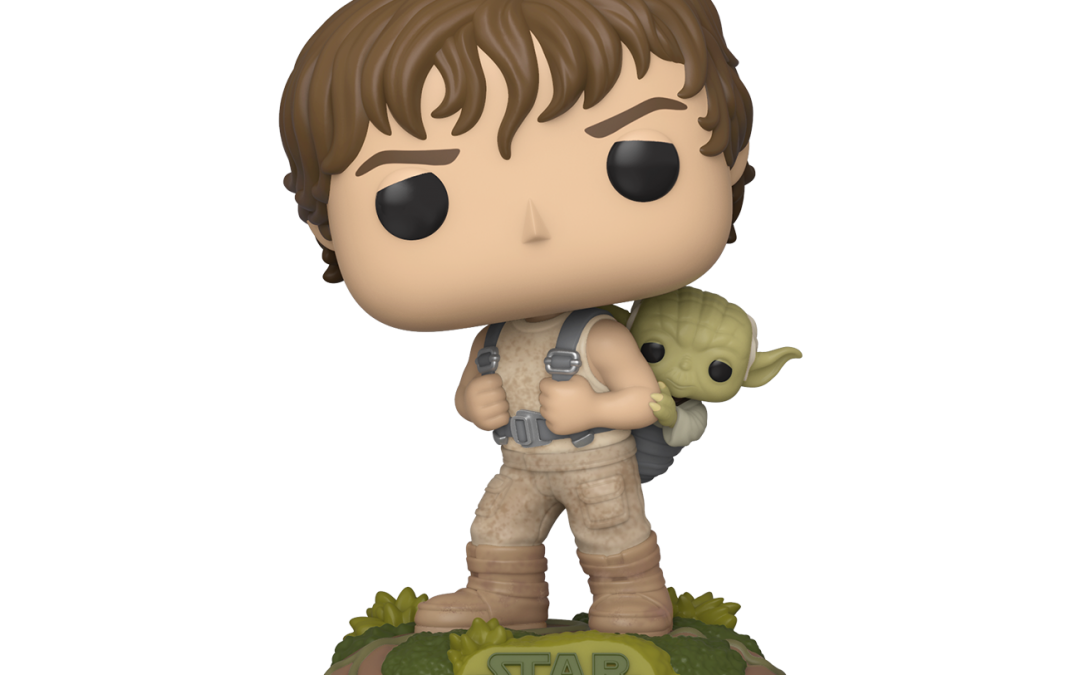 New Training Luke with Yoda Bobble Head Toy available for pre-order!
