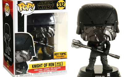 New Rise of Skywalker Knight of Ren (War Club) Bobble Head Toy available!