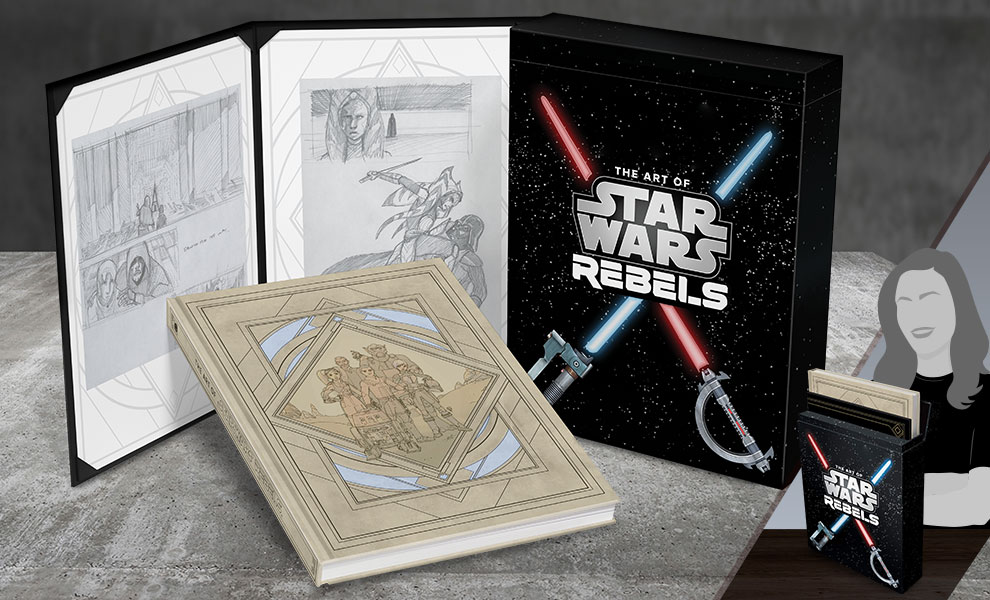 The Art of Star Wars Rebels LE Book 1