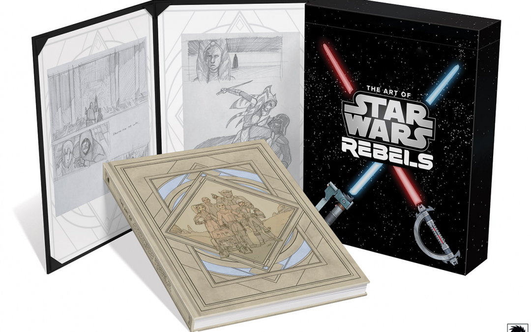 New The Art of Star Wars Rebels (Limited Edition) Book available for pre-order!