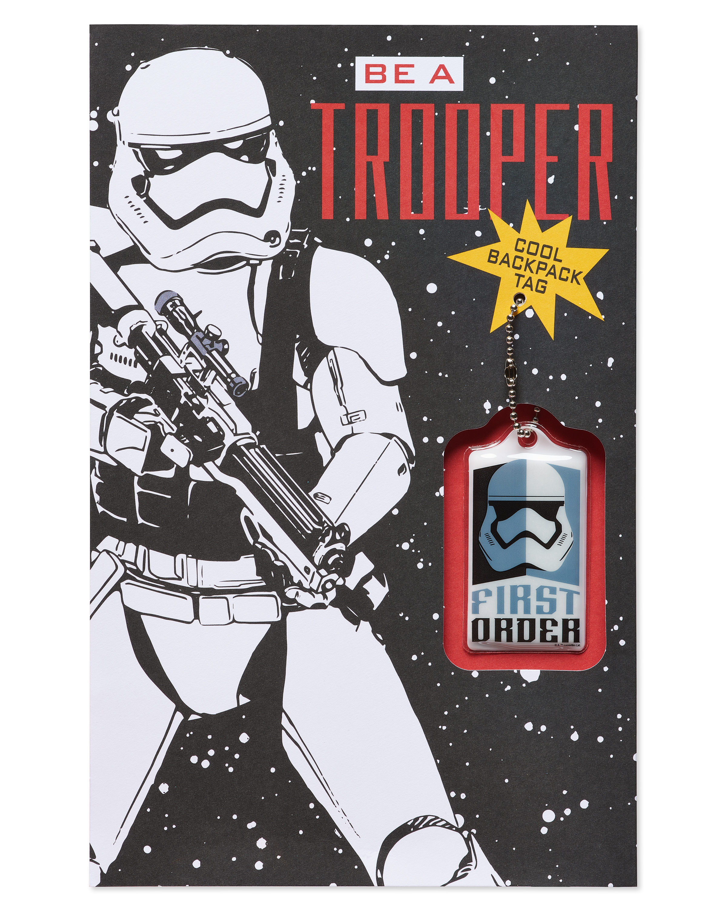 SW FO Stormtrooper Valentines Day Card 1