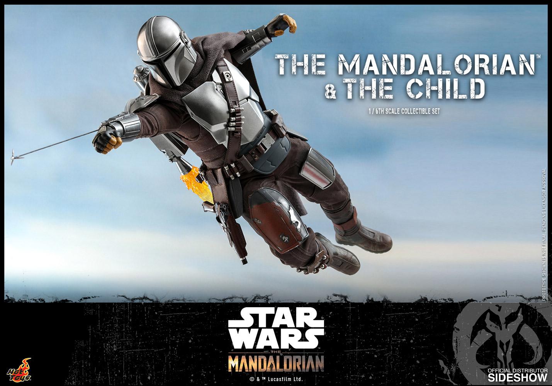 TM Mando and The Child Figure set 2