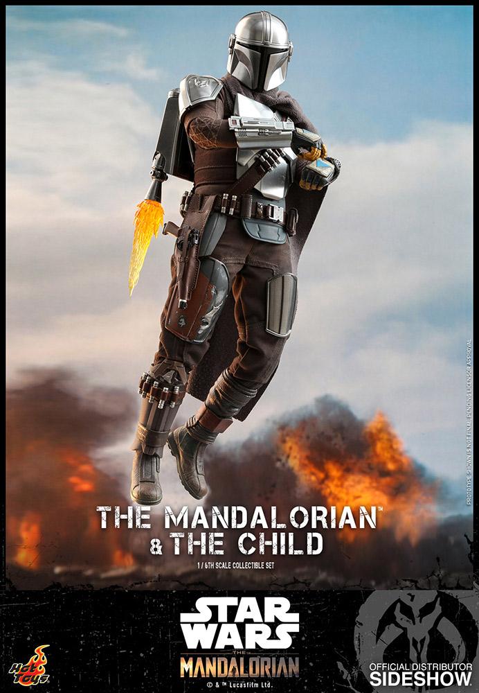 TM Mando and The Child Figure set 7