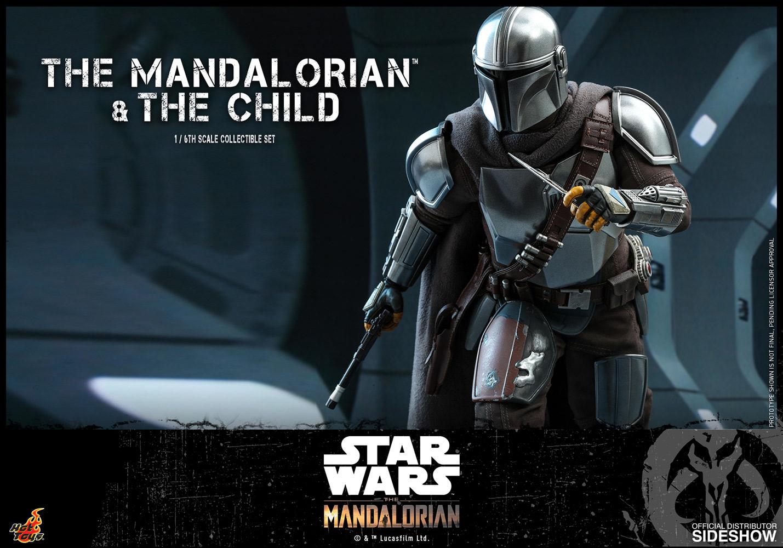 TM Mando and The Child Figure set 10