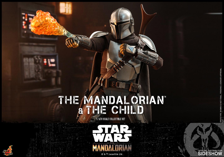 TM Mando and The Child Figure set 11