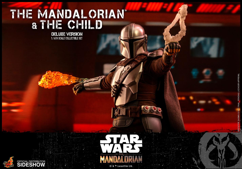 TM Mando and The Child Deluxe Figure Set 3
